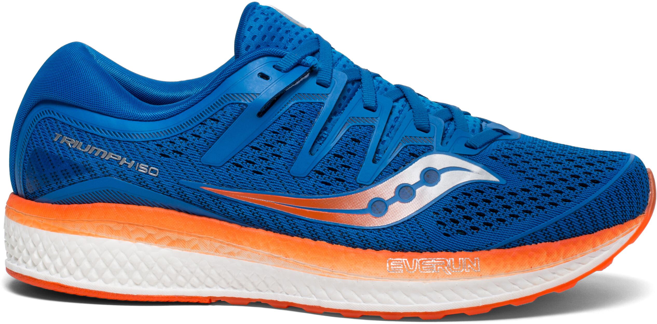 saucony Triumph ISO 5 scarpe da corsa Uomo arancione blu su Bikester cdf1a346331